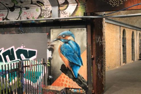King Fisher Street Art